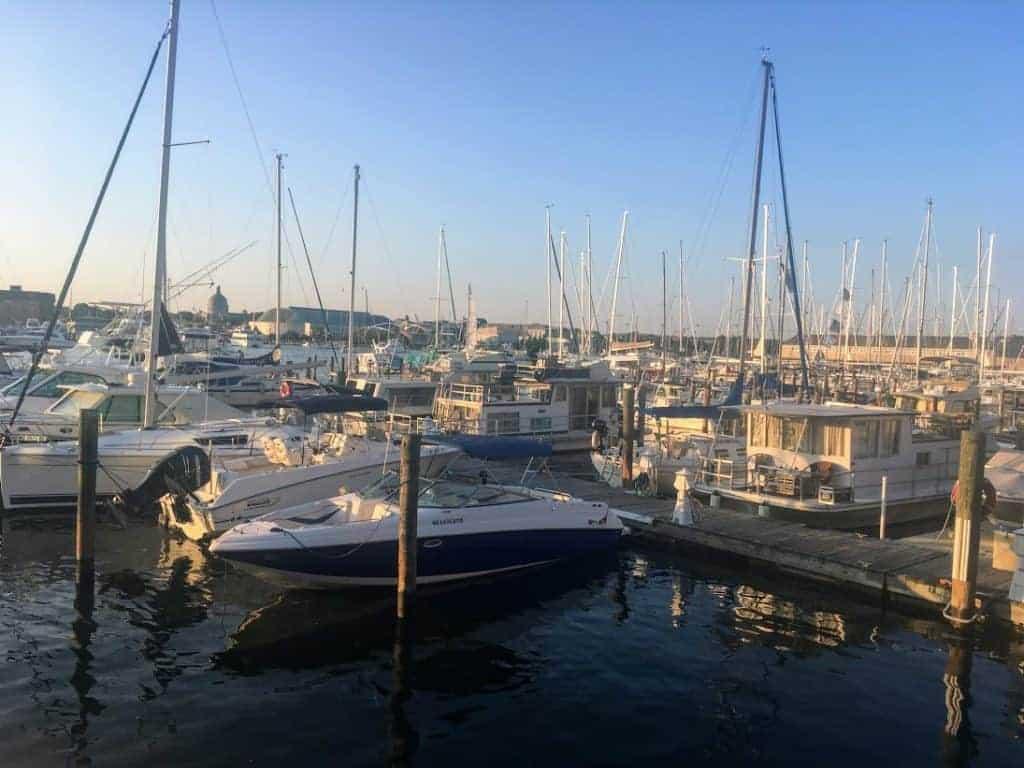 Annapolis Harbor Evening