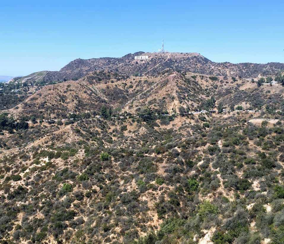 Hollywood sign griffith observatory