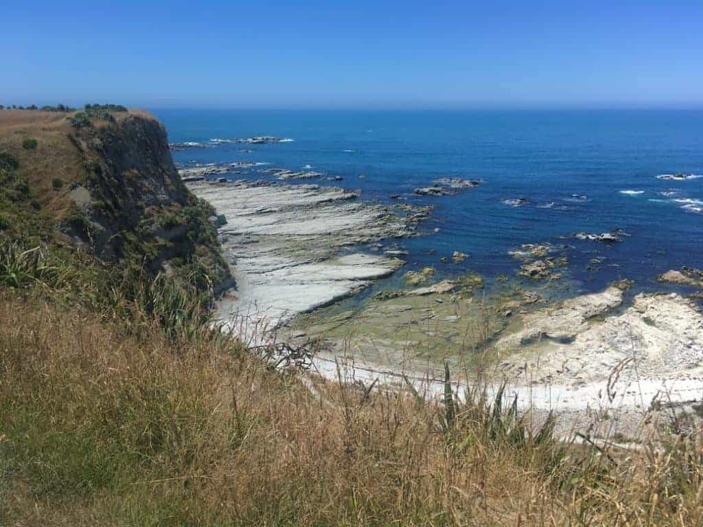 kaikoura peninsula rocks