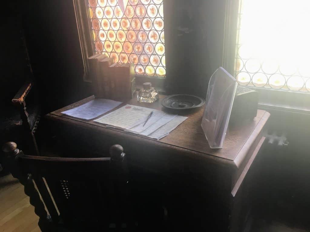 Pabst Mansion letter