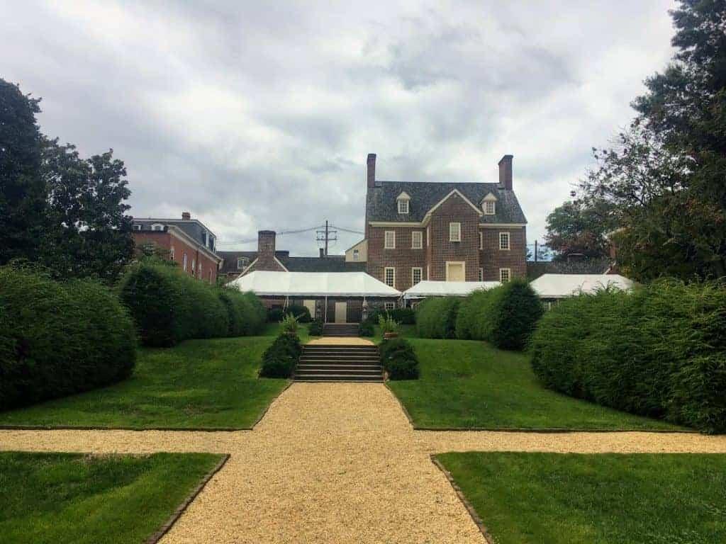 William Paca House back