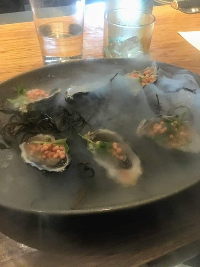 oysters and pearls juniper and ivy