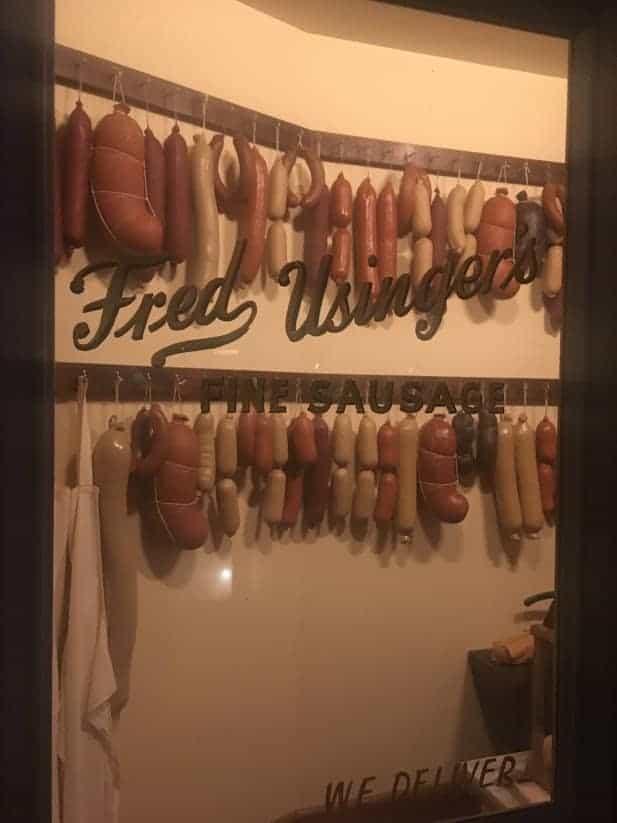 sausages milwaukee public museum