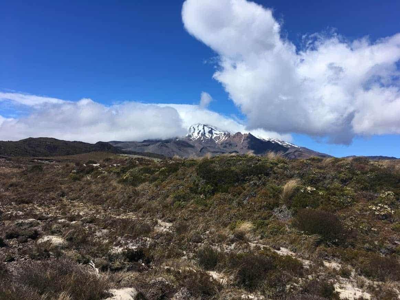 tongariro national park mountain