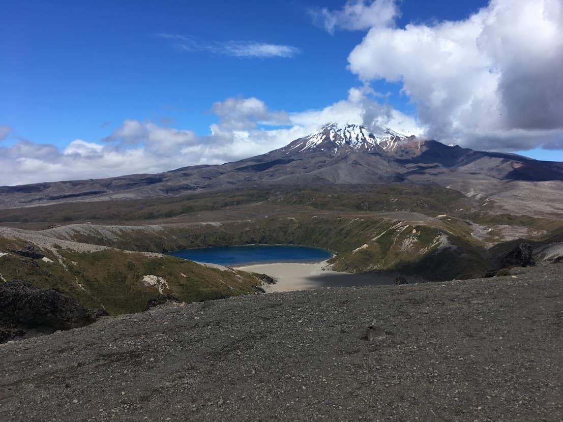 lower tama lake mt ruapehu