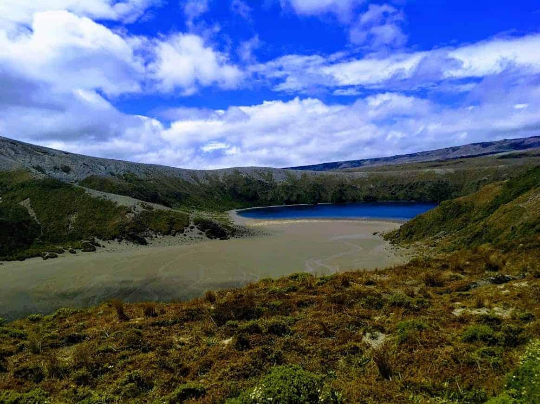 24 hours in tongariro national park lower tama lake