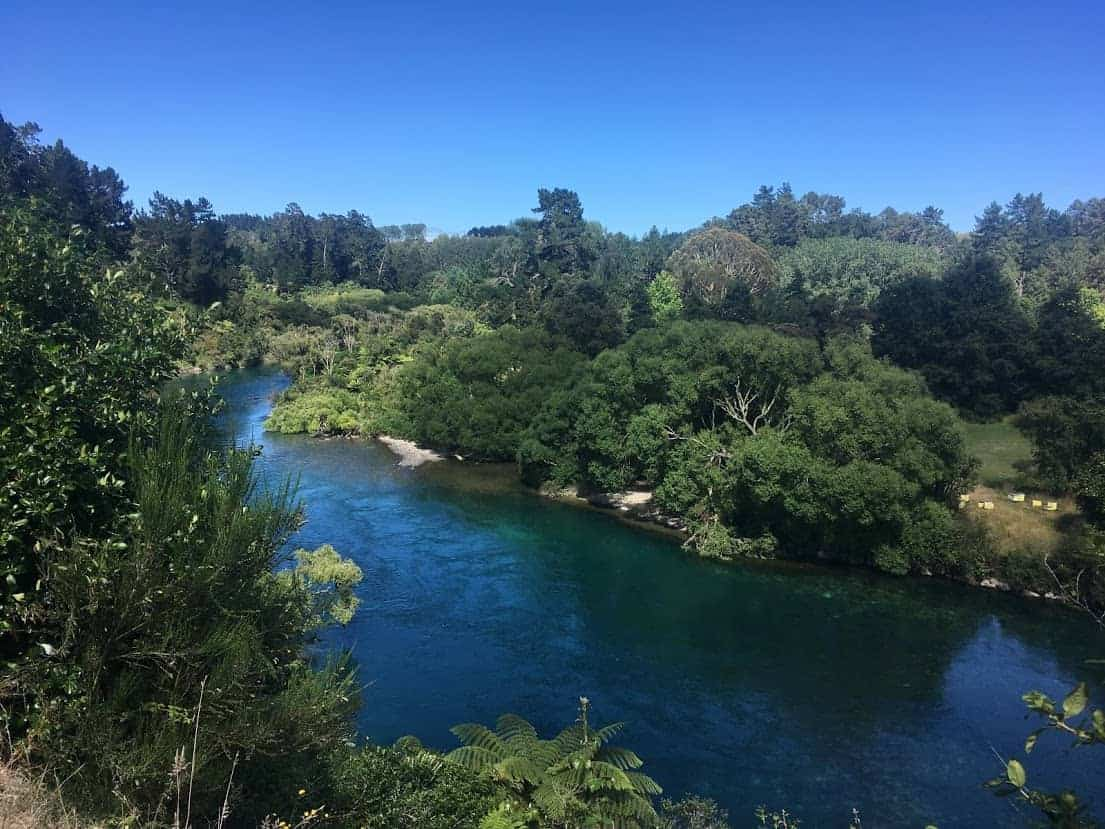 24 hours in taupo waikato river