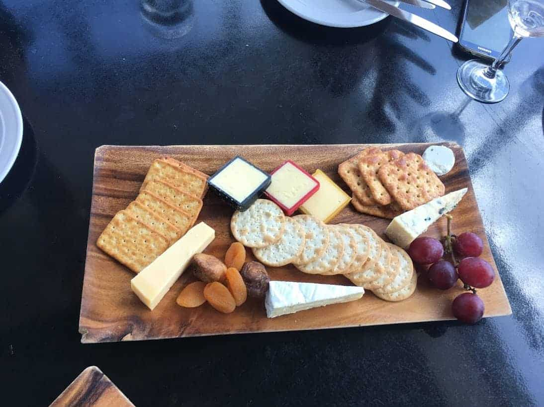 volcanic hills cheese plate