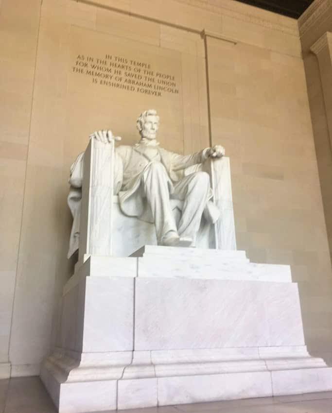 Abraham Lincoln Memorial Washington DC