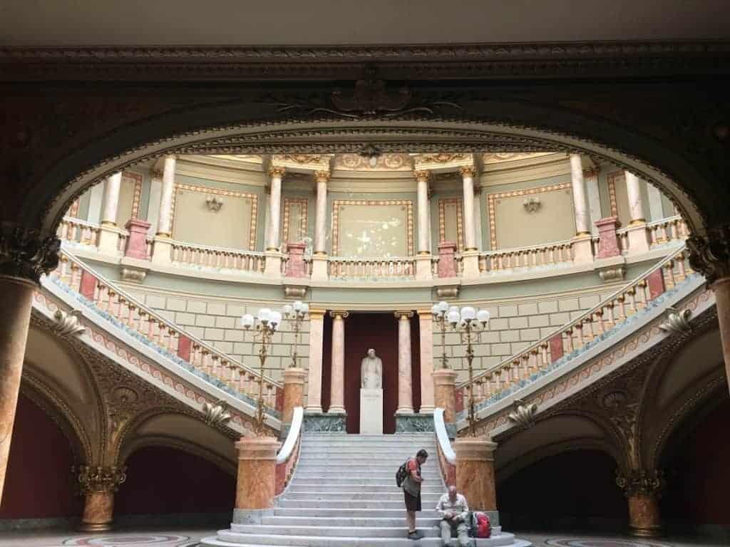 Athenaeum Bucharest interior