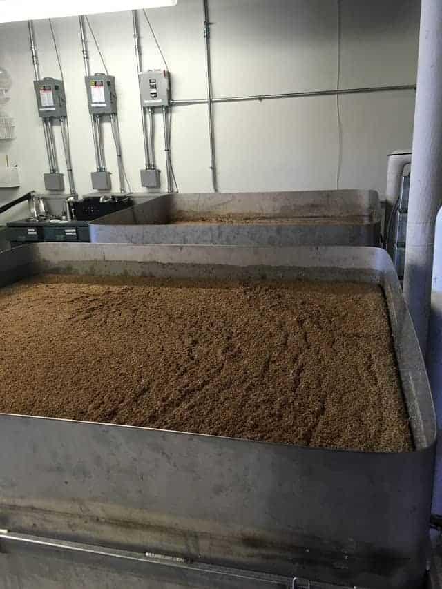 Block Distilling Grain