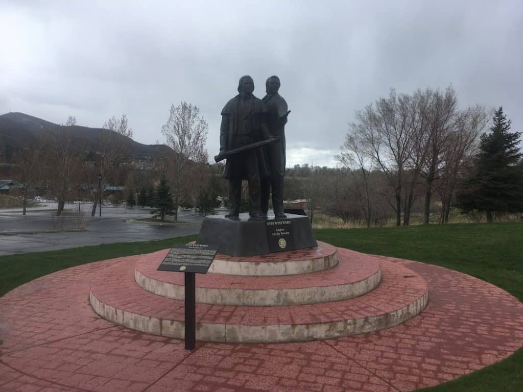 Eyes Westward Statue