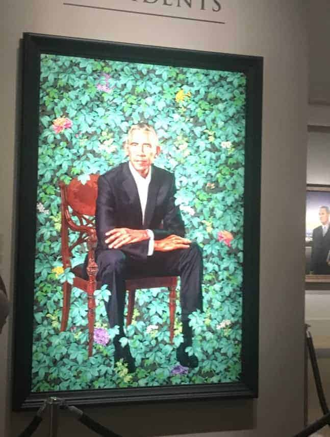 barack obama national portrait gallery kehinde wiley