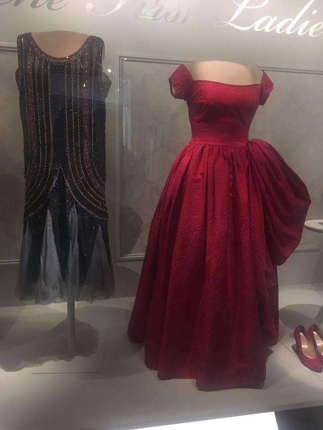 Mamie Dodd Eisenhower first lady dress