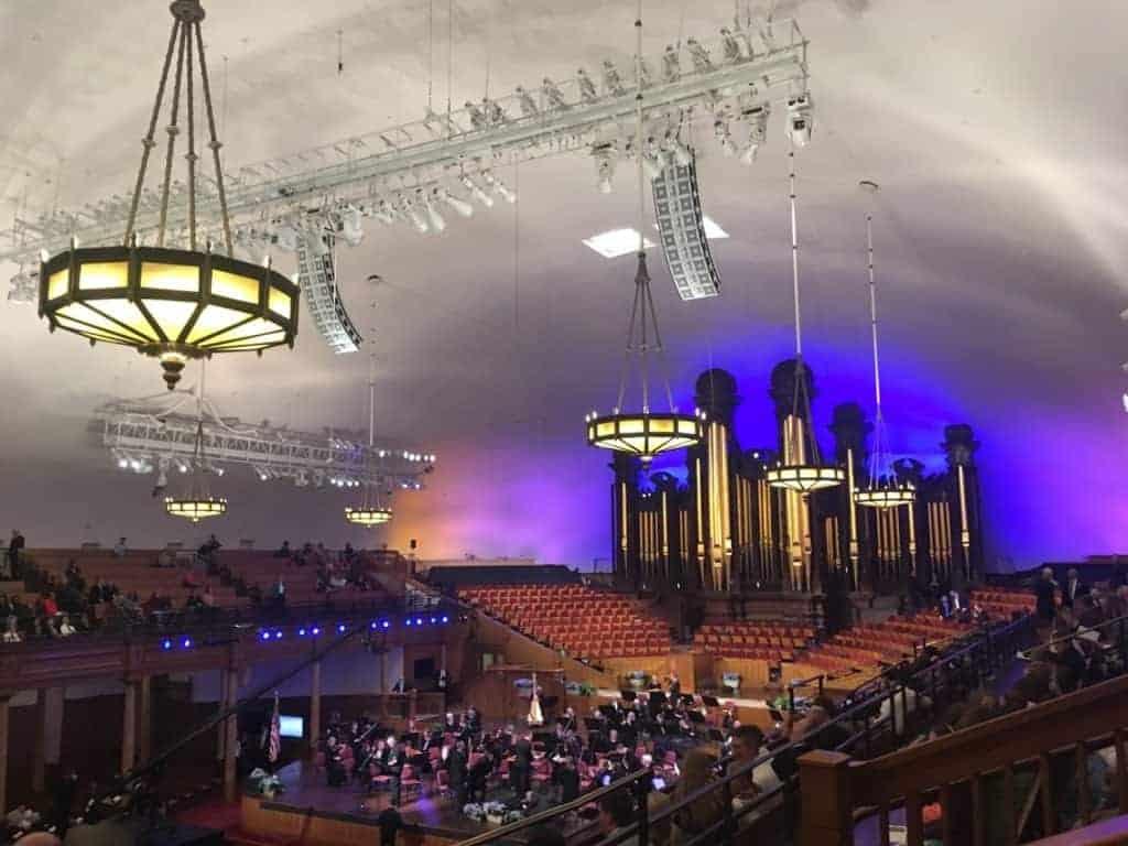 Mormon Tabernacle Choir concert