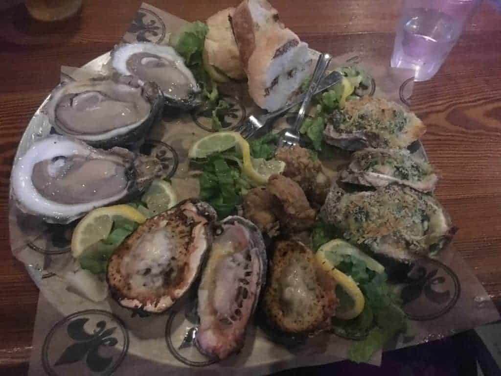 Frenchmen Street Oysters
