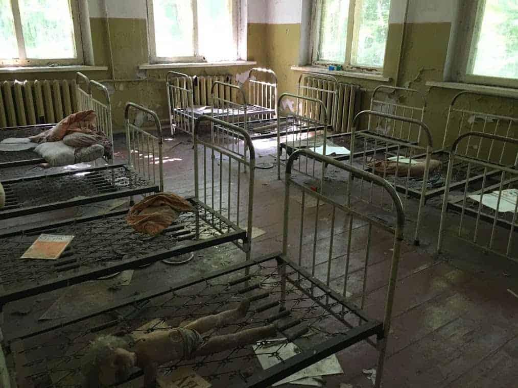 Chernobyl schoolhouse