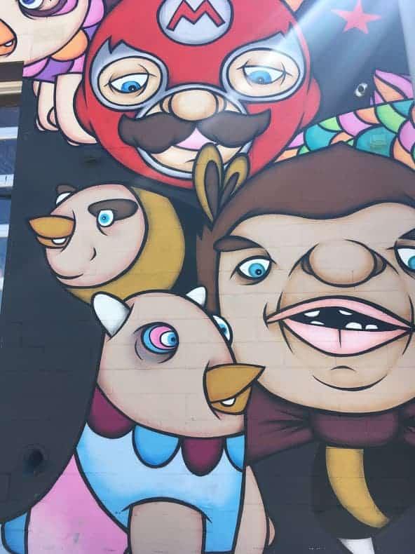 video game street art