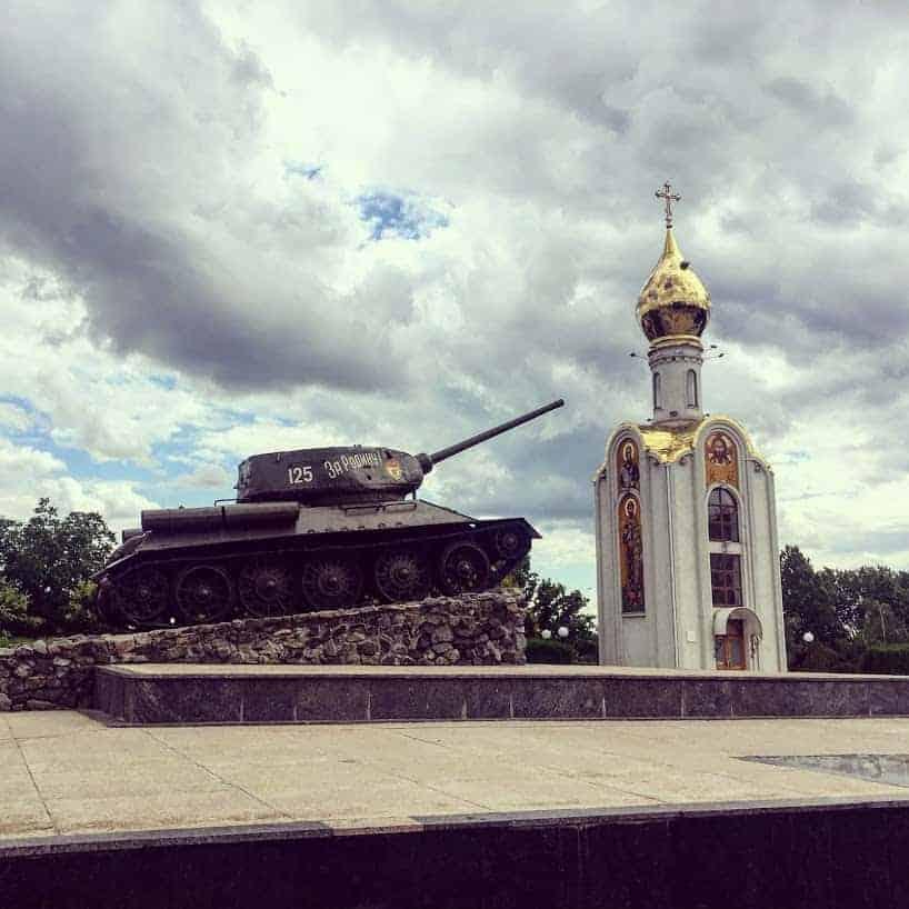 tiraspol war memorial