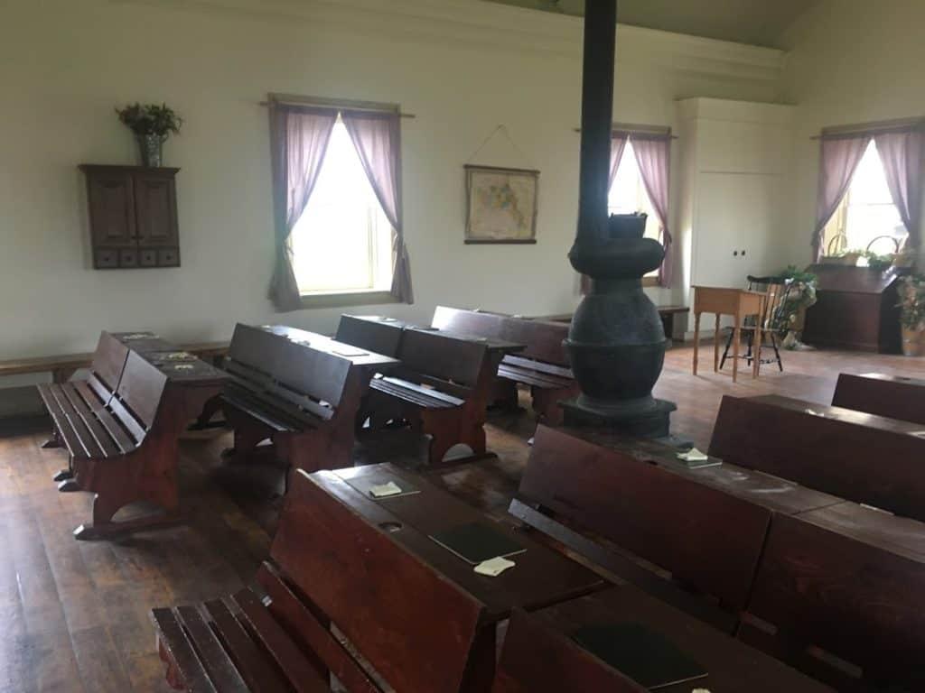this is the place utah schoolroom