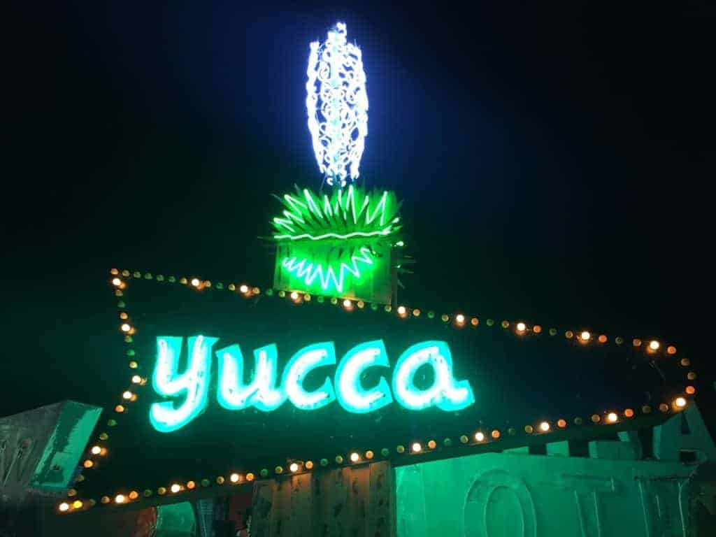 Yucca Sign Neon Museum