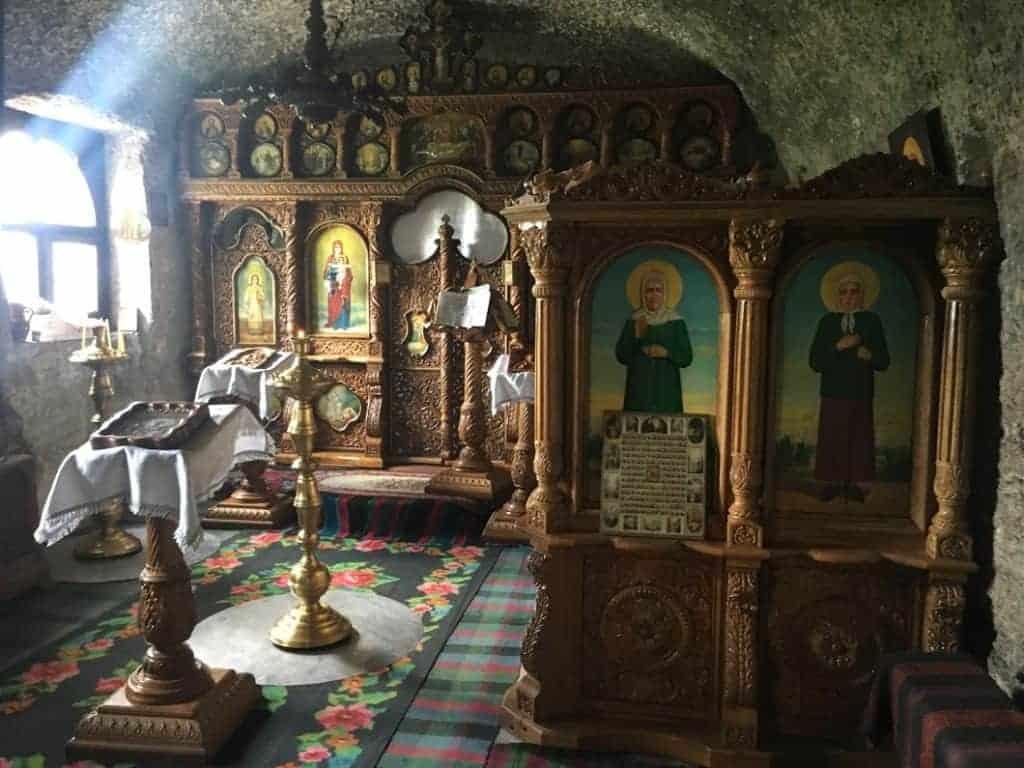 Orheiul Vechi cave monastery