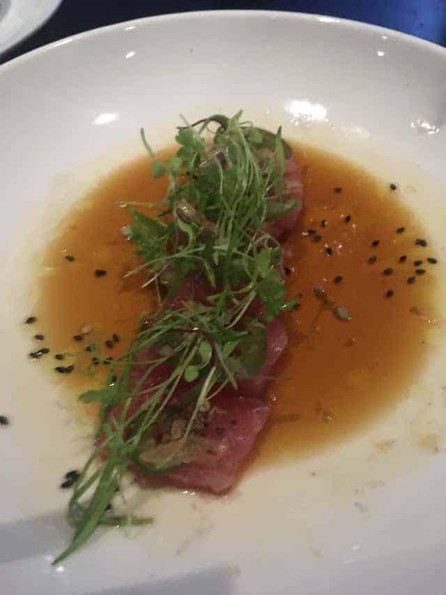 guard and grace tuna sashimi
