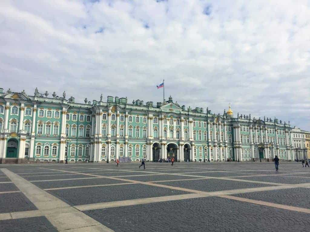 One Day in St Petersburg