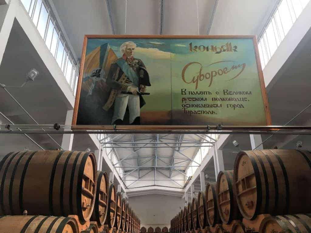 kvint distillery Tiraspol