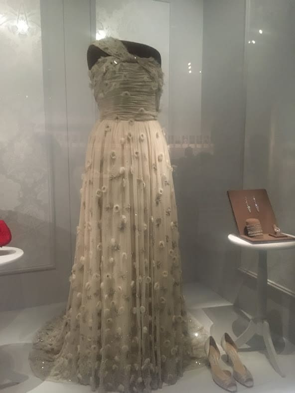 michelle obama inaugural gown smithsonian