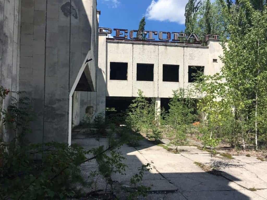 restaurant pripyat ukraine chernobyl