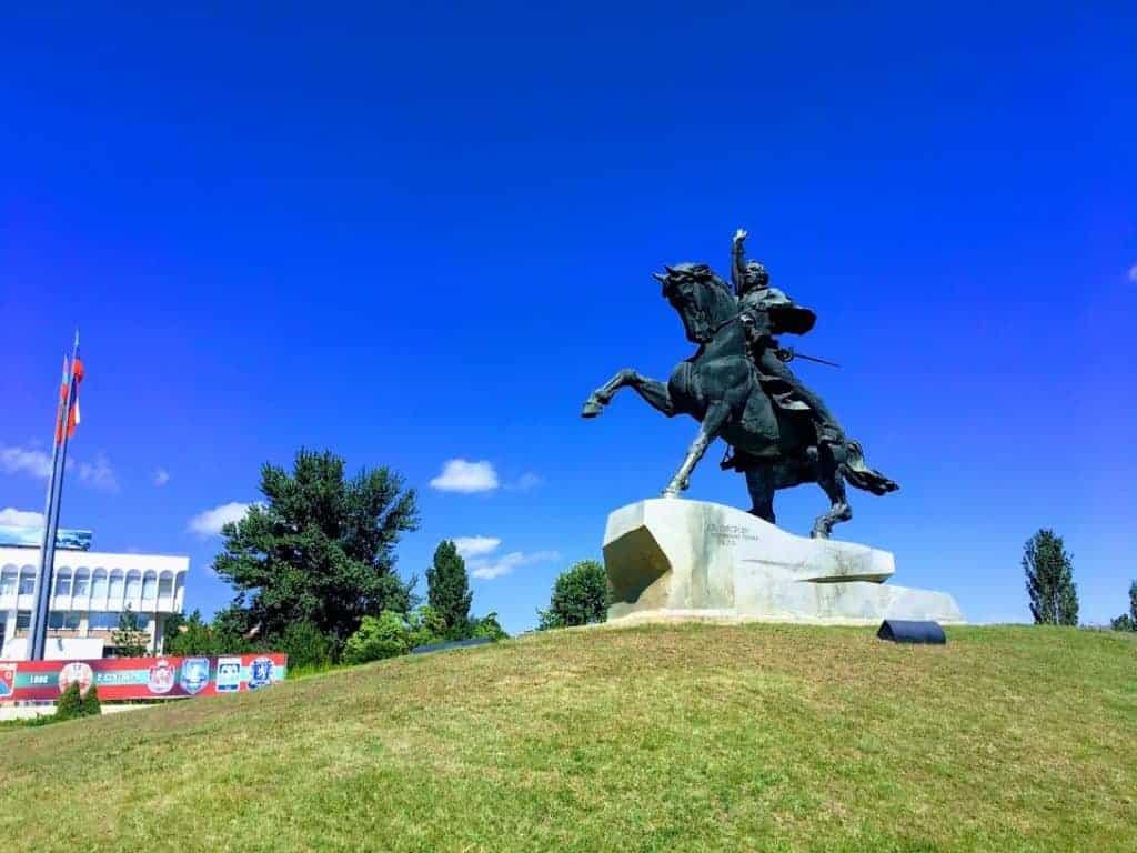 suvorov monument tiraspol
