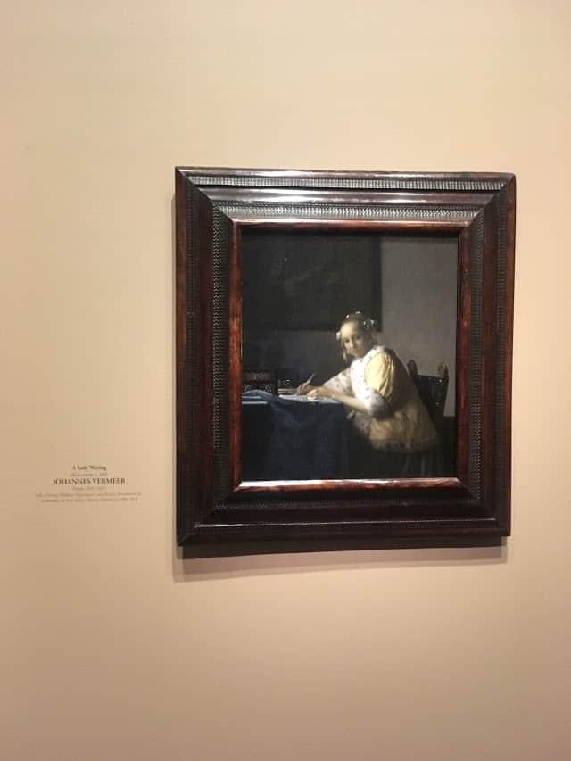 vermeer national gallery of art dc