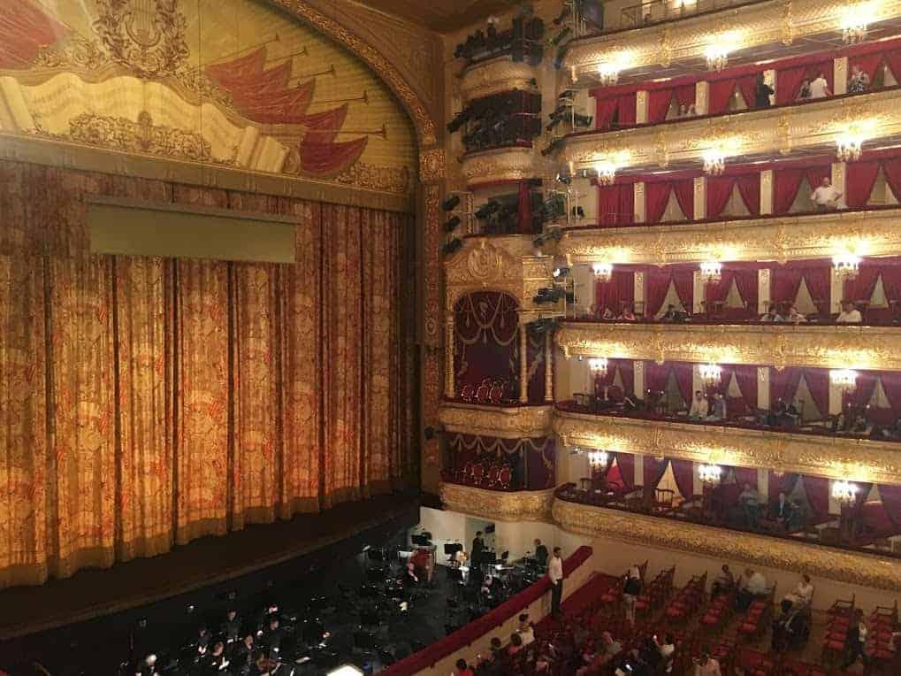 bolshoi ballet interior