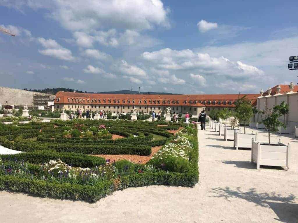 bratislava castle gardens