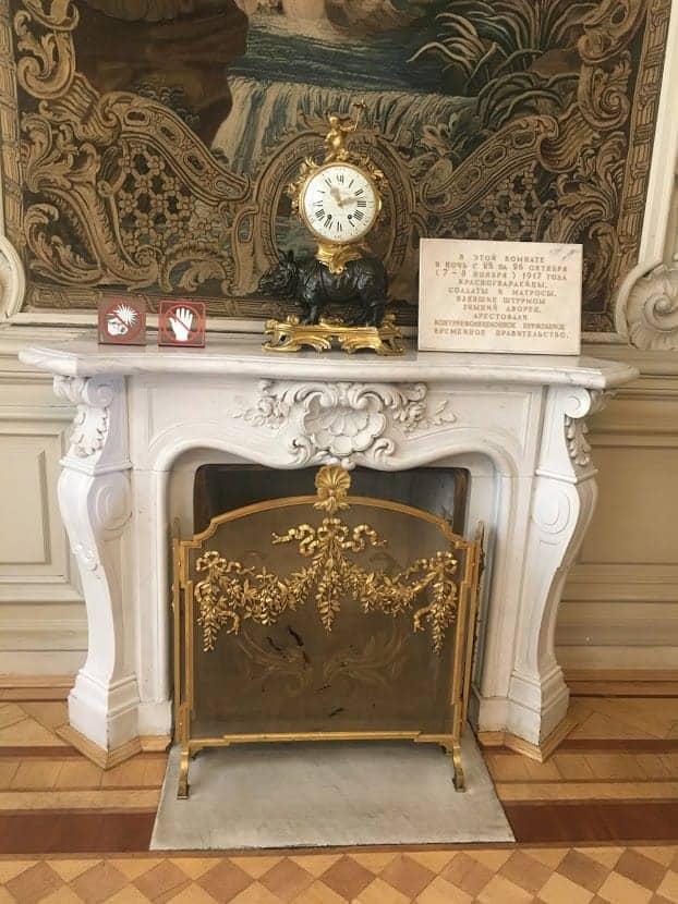 1917 clock hermitage museum