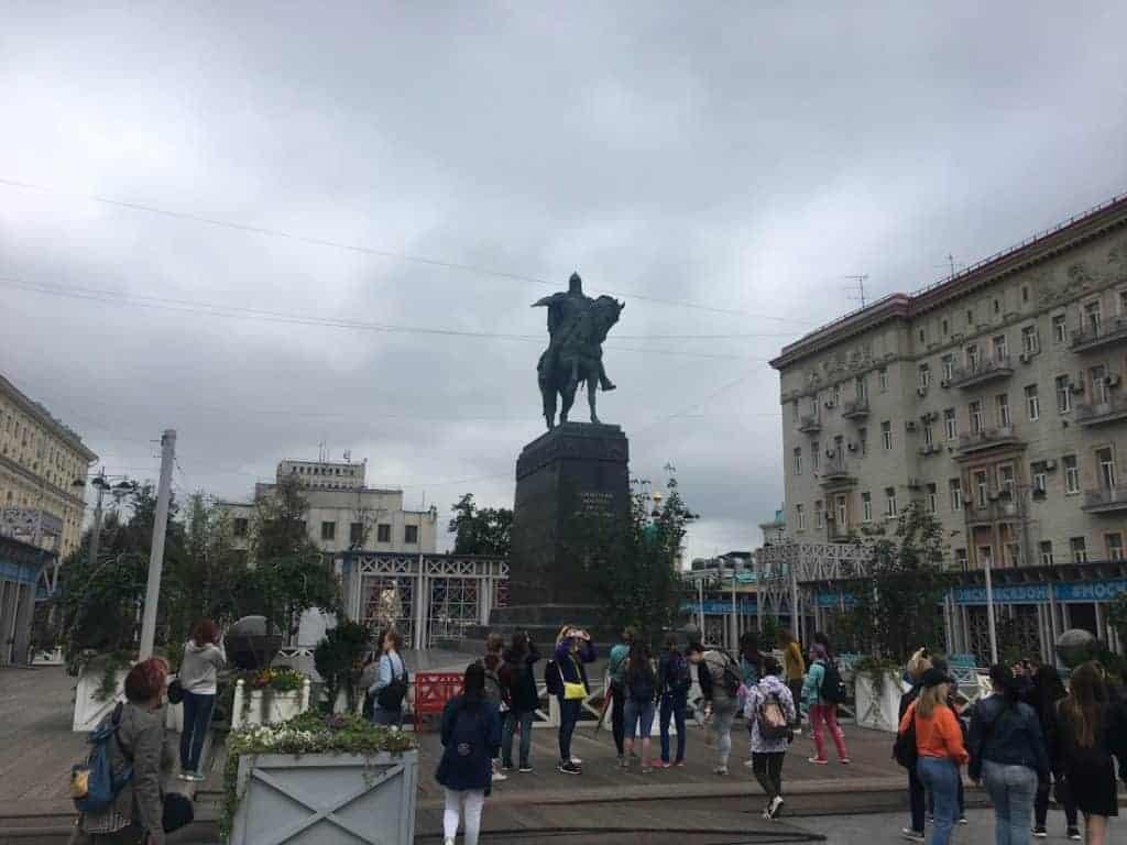 Statue of Yuriy Dolgorukiy
