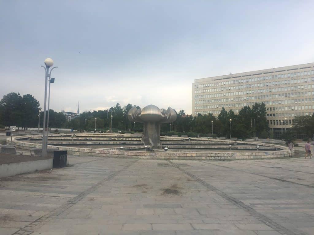 fountain bratislava