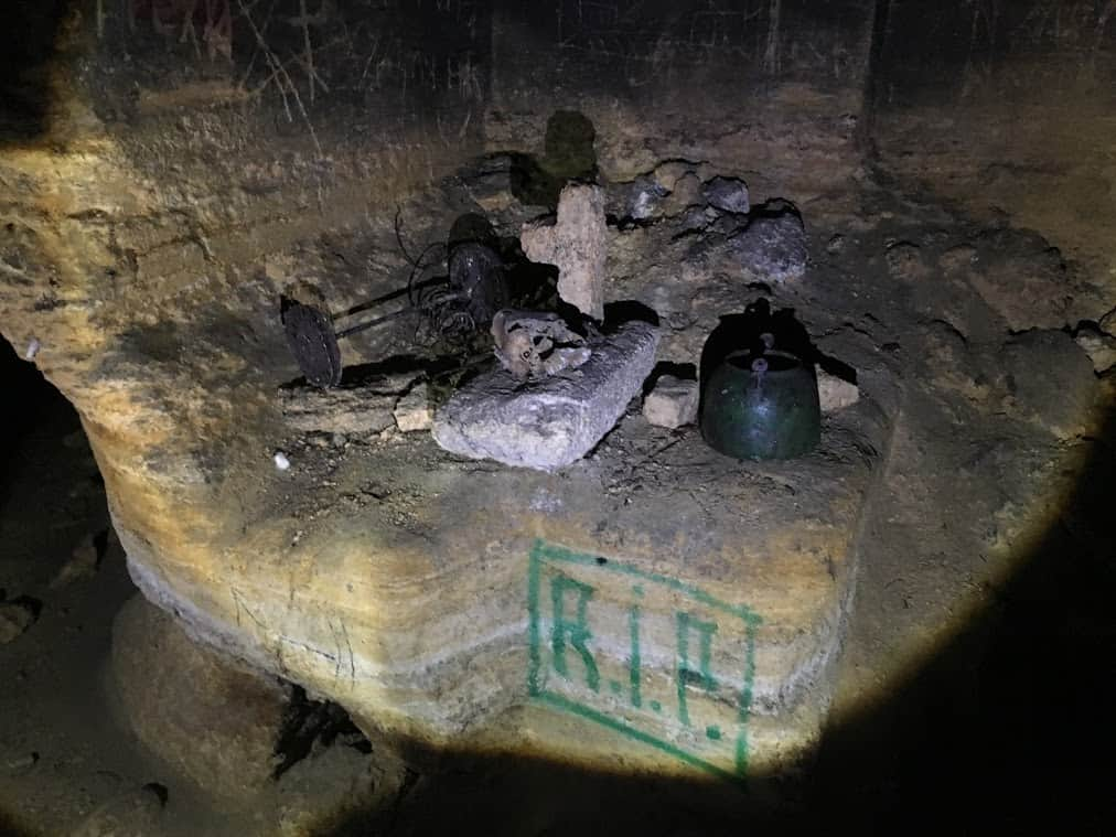 white hunter odessa catacombs