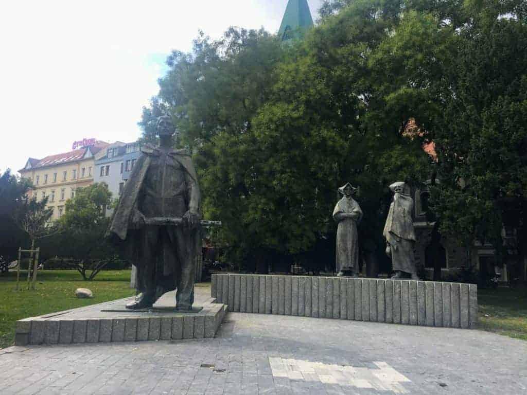 soviet monument to world war ii bratislava