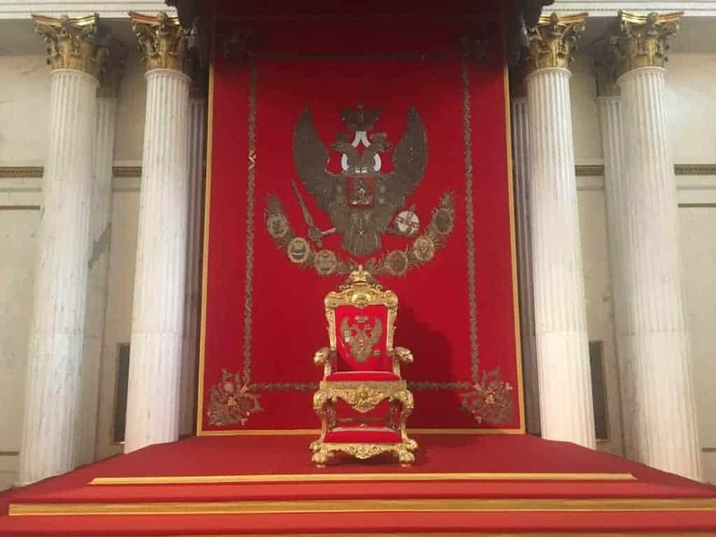throne winter palace