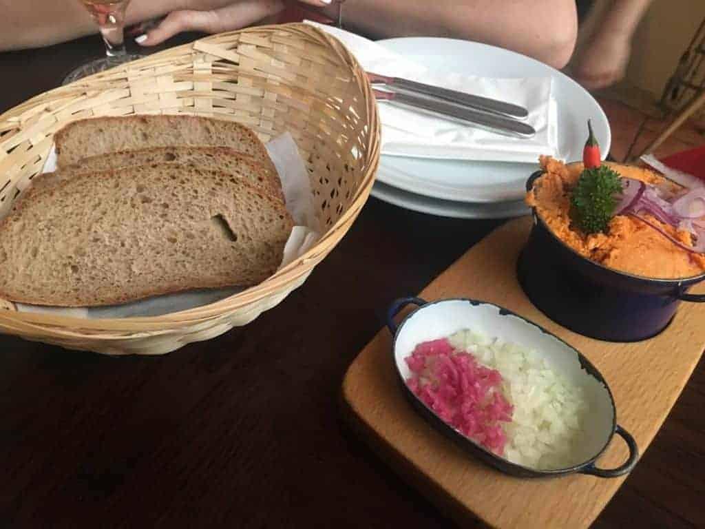 bratislava cheese dip