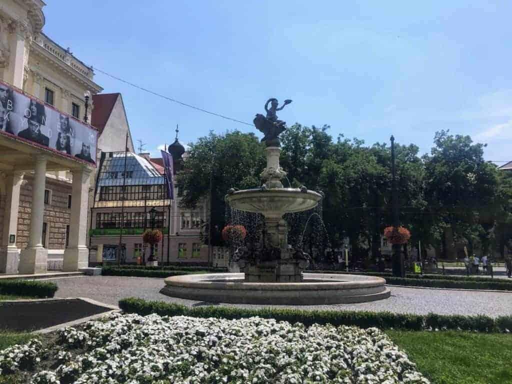 ganymede fountain