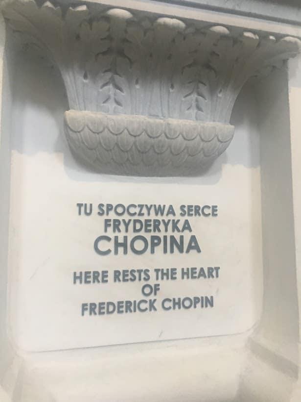 chopin's heart warsaw