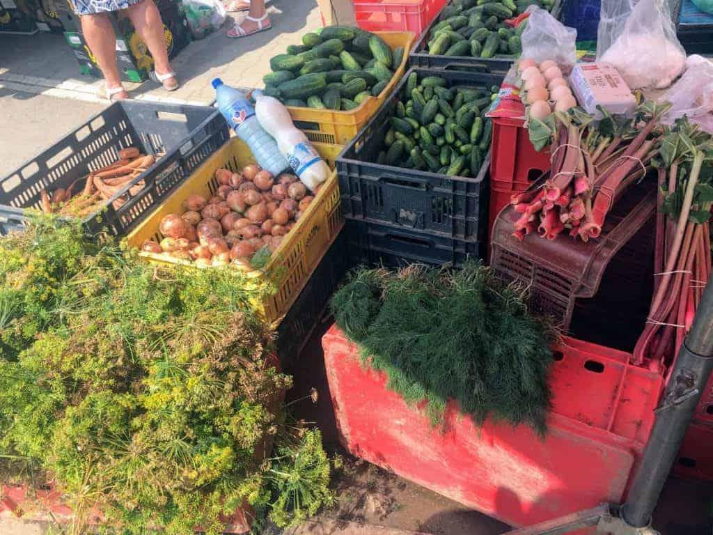 nowa huta market