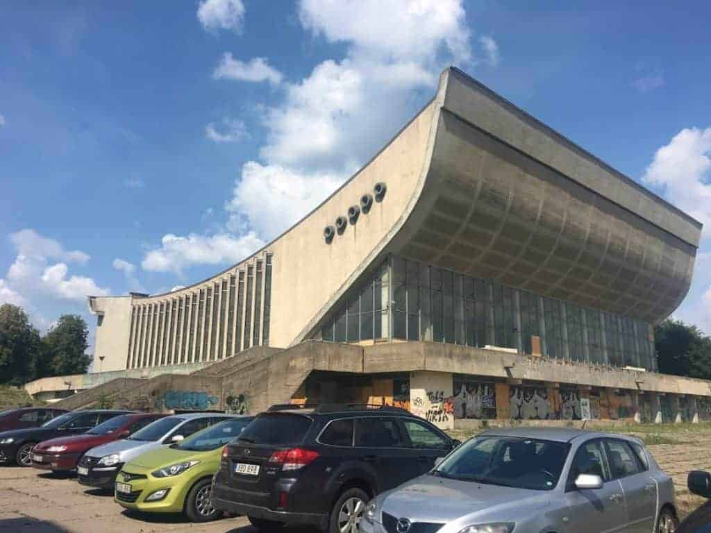 palace of concerts and sports vilnius