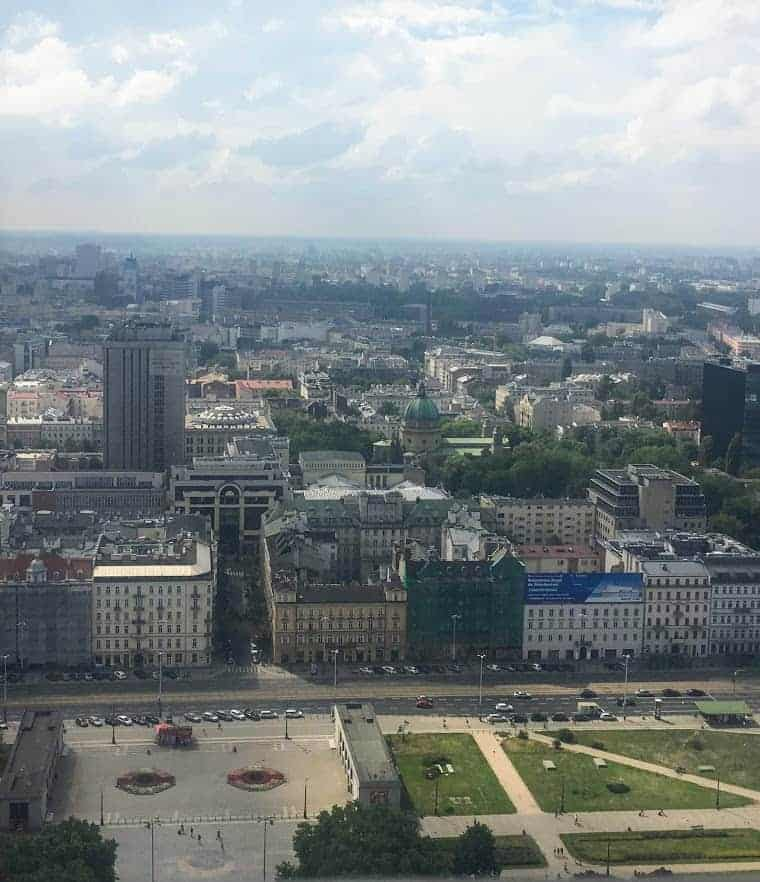 24 hours in warsaw palace of culture and science