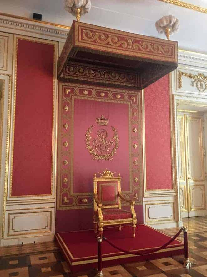 royal castle warsaw throne room