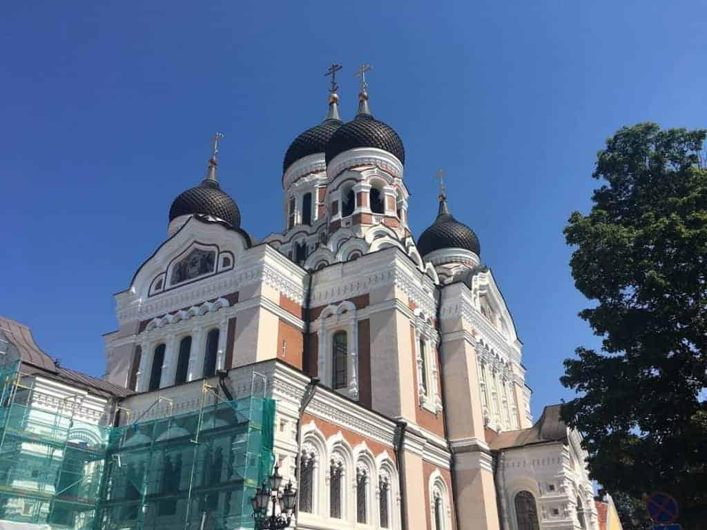 russian orthodox church tallinn old town