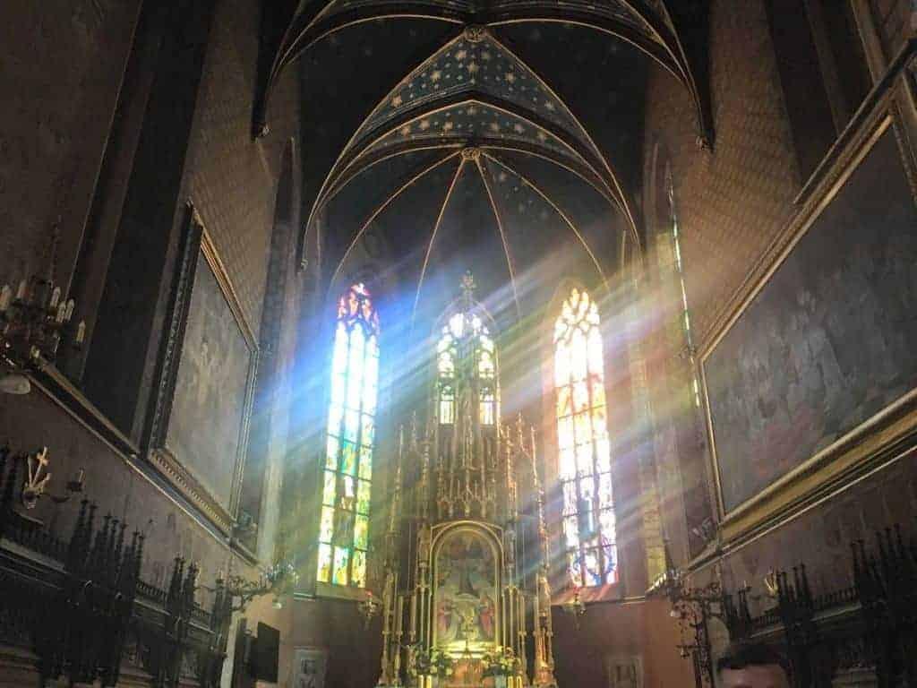 st francis church krakow